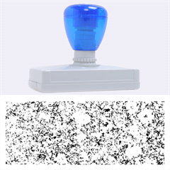 MARBLE BLUE Rubber Address Stamps (XL)