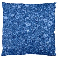 MARBLE BLUE Large Cushion Cases (Two Sides)