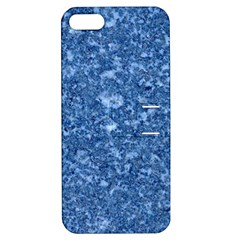 MARBLE BLUE Apple iPhone 5 Hardshell Case with Stand