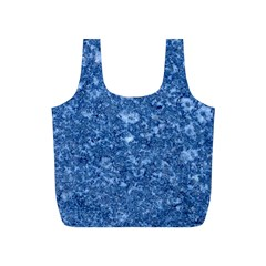 MARBLE BLUE Full Print Recycle Bags (S)