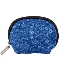 MARBLE BLUE Accessory Pouches (Small)