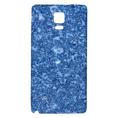 MARBLE BLUE Galaxy Note 4 Back Case