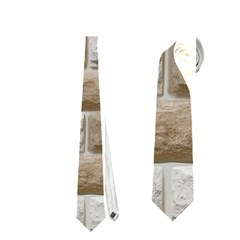 LIGHT BRICK WALL Neckties (One Side)