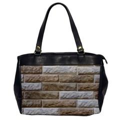 LIGHT BRICK WALL Office Handbags