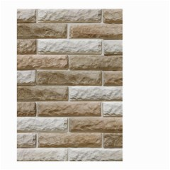 Light Brick Wall Small Garden Flag (two Sides)