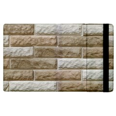 LIGHT BRICK WALL Apple iPad 2 Flip Case