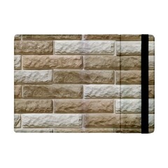 LIGHT BRICK WALL Apple iPad Mini Flip Case