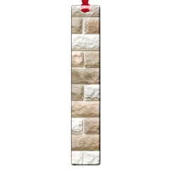 LIGHT BRICK WALL Large Book Marks