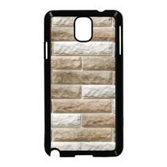 LIGHT BRICK WALL Samsung Galaxy Note 3 Neo Hardshell Case (Black)