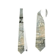 Grey Stone Pile Neckties (two Side)