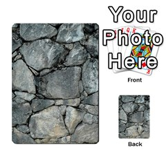 Grey Stone Pile Multi Purpose Cards (rectangle)
