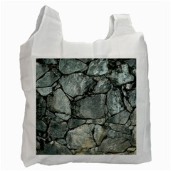 GREY STONE PILE Recycle Bag (One Side)