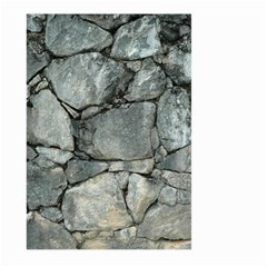 Grey Stone Pile Large Garden Flag (two Sides)