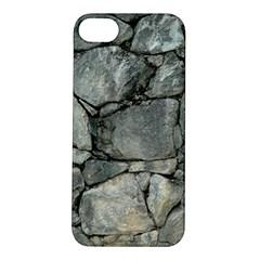 GREY STONE PILE Apple iPhone 5S Hardshell Case
