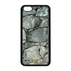 GREY STONE PILE Apple iPhone 5C Seamless Case (Black)