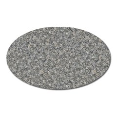 GREY MARBLE Oval Magnet