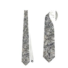 Grey Marble Neckties (one Side)