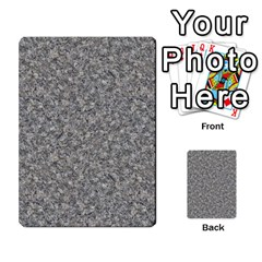 Grey Marble Multi Purpose Cards (rectangle)