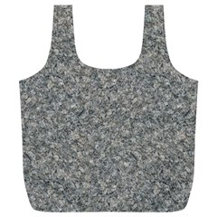 GREY MARBLE Full Print Recycle Bags (L)