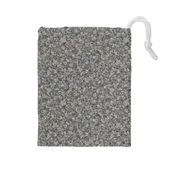 Grey Marble Drawstring Pouches (large)