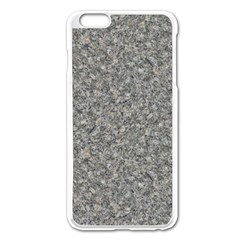 GREY MARBLE Apple iPhone 6 Plus/6S Plus Enamel White Case