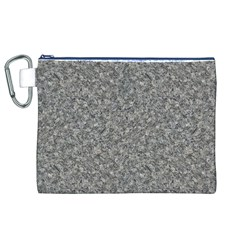 GREY MARBLE Canvas Cosmetic Bag (XL)