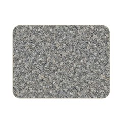 GREY MARBLE Double Sided Flano Blanket (Mini)