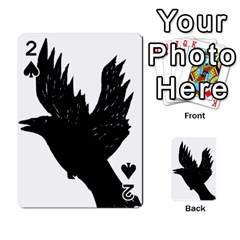 Crow Playing Cards 54 Designs