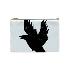 Crow Cosmetic Bag (Medium)