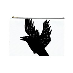Crow Cosmetic Bag (Large)