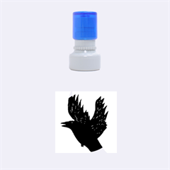 Crow Rubber Round Stamps (Small)