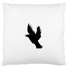 Crow Large Flano Cushion Cases (Two Sides)
