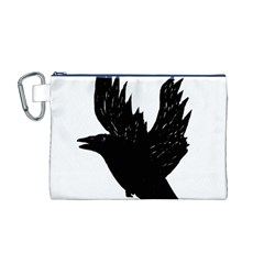 Crow Canvas Cosmetic Bag (M)