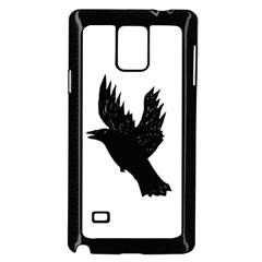 Crow Samsung Galaxy Note 4 Case (Black)
