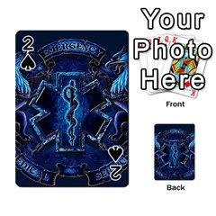 Ems Blue Playing Cards 54 Designs