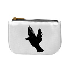 Hovering crow Mini Coin Purses
