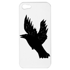 Hovering crow Apple iPhone 5 Hardshell Case