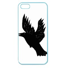 Hovering crow Apple Seamless iPhone 5 Case (Color)