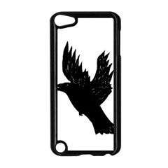 Hovering crow Apple iPod Touch 5 Case (Black)