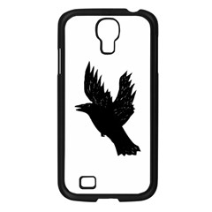 Hovering crow Samsung Galaxy S4 I9500/ I9505 Case (Black)