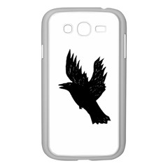Hovering crow Samsung Galaxy Grand DUOS I9082 Case (White)
