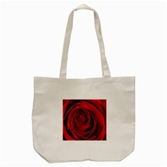Beautifully Red Tote Bag (cream)