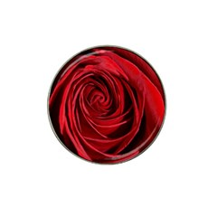Beautifully Red Hat Clip Ball Marker (10 pack)