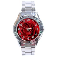 Beautifully Red Stainless Steel Men s Watch