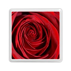 Beautifully Red Memory Card Reader (square)