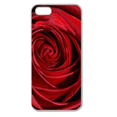 Beautifully Red Apple Seamless iPhone 5 Case (Clear)