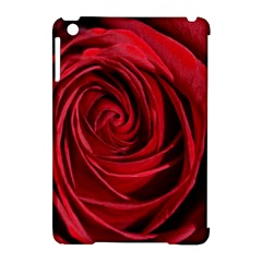 Beautifully Red Apple iPad Mini Hardshell Case (Compatible with Smart Cover)
