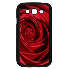 Beautifully Red Samsung Galaxy Grand DUOS I9082 Case (Black)