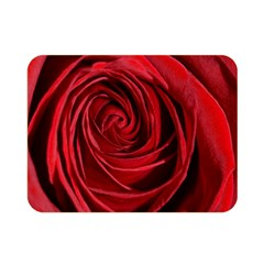 Beautifully Red Double Sided Flano Blanket (mini)