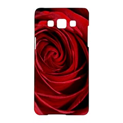 Beautifully Red Samsung Galaxy A5 Hardshell Case